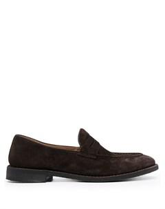 Лоферы с миндалевидным носком Alberto fasciani