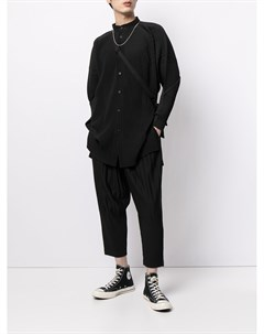 Зауженные брюки с плиссировкой Homme plissé issey miyake