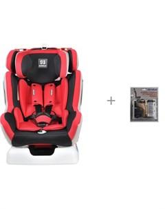 Автокресло X30 с защитой спинки сиденья от грязных ног ребенка АвтоБра Farfello