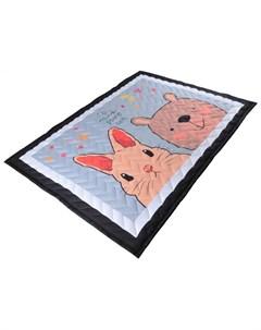 Игровой коврик одеяло Зверушки Farfello