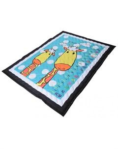 Игровой коврик одеяло Жирафы Farfello