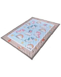 Игровой коврик одеяло Единороги Farfello