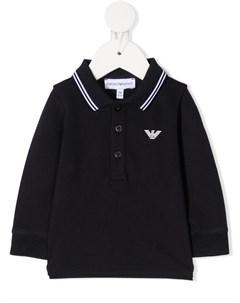 Рубашка поло с длинными рукавами Emporio armani kids