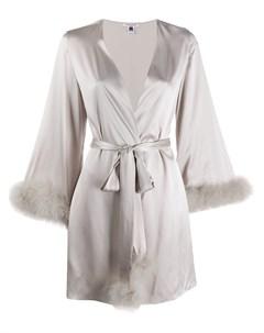 Короткий халат Kitty Gilda & pearl