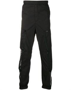 Спортивные брюки с сетчатыми вставками Stone island shadow project