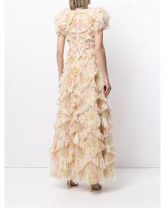 Платье Genevieve Rose с оборками Needle & thread