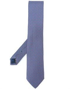 Фирменный галстук Salvatore ferragamo