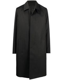 Однобортное пальто длины миди Givenchy