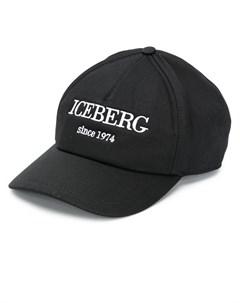 Кепка с вышитым логотипом Iceberg