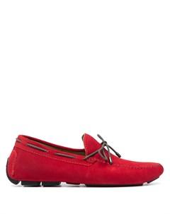 Топсайдеры на шнуровке Kiton