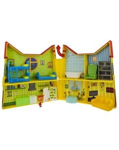 Игровой набор Дом Котят с мебелью и секретной фигуркой внутри Три кота