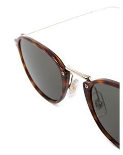 Солнцезащитные очки в D образной оправе Montblanc