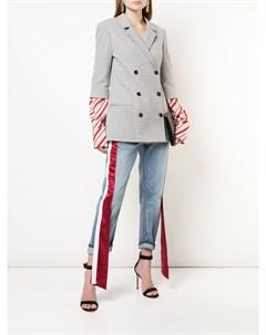 Пиджак с рукавами в полоску Hellessy