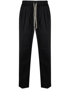 Прямые брюки с кулиской Gabriele pasini