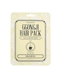 Маска для волос Ggongji Ponytail Hair Pack Kocostar