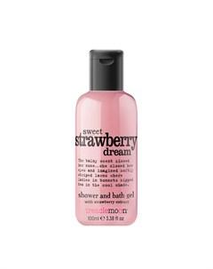 Гель для душа Sweet Strawberry Dream Bath Shower Gel 100 мл Treaclemoon