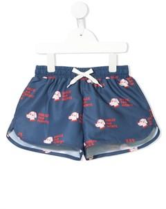 Плавки шорты с принтом Tiny cottons