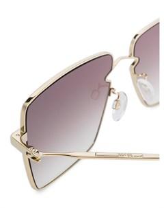 Солнцезащитные очки MQ 0268s в массивной оправе Mcq by alexander mcqueen eyewear