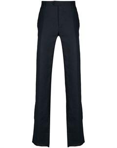 Прямые брюки с вышивкой Billionaire