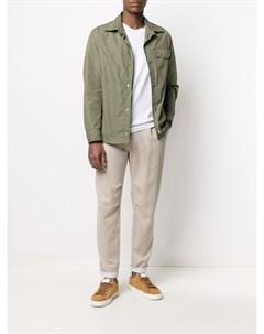 Куртка рубашка с накладными карманами Brunello cucinelli
