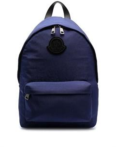 Рюкзак с нашивкой логотипом Moncler