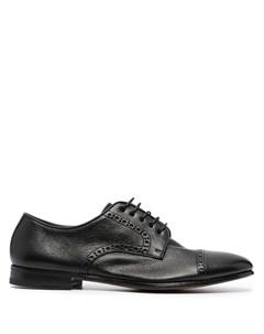 Туфли дерби с перфорацией Henderson baracco