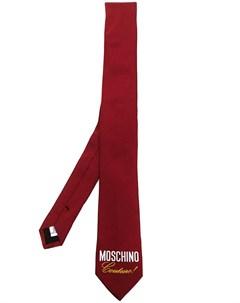 Галстук Couture с логотипом Moschino