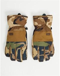Зеленые камуфляжные перчатки Kera Billabong