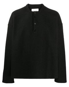 Пуловер на пуговицах Jil sander