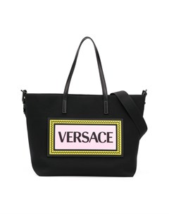 Пеленальная сумка с логотипом Versace kids