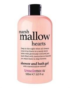 Гель Marshmallow Hearts Bath Shower Gel для Душа Маршмеллоу 500 мл Treaclemoon