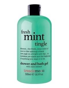 Гель Fresh Mint Tingle Bath Shower Gel для Душа Свежая Мята 500 мл Treaclemoon