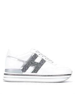 Кроссовки H222 на шнуровке Hogan