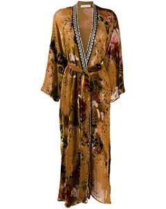 Пальто с поясом Anjuna