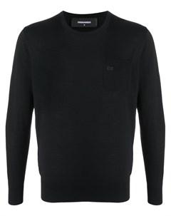 Пуловер с логотипом Dsquared2