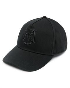 Шестипанельная кепка с вышитым логотипом Moncler