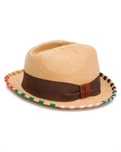 Шляпа с отделкой в полоску Paul smith