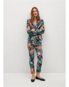 Пиджак с тропическим принтом Cofip6 n Mango