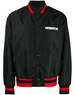 Бомбер с логотипом Versace