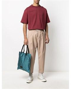 Зауженные брюки с эластичным поясом Drôle de monsieur