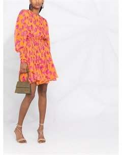 Короткое платье Monica с цветочным принтом Maria lucia hohan