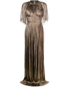 Платье макси Candance в стиле кейпа Maria lucia hohan