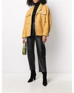 Куртка оверсайз фактурной вязки Anine bing