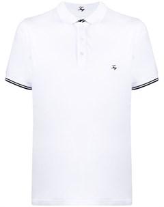 Рубашка поло с вышитым логотипом Fay