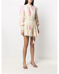 Платье рубашка с принтом Hemant & nandita