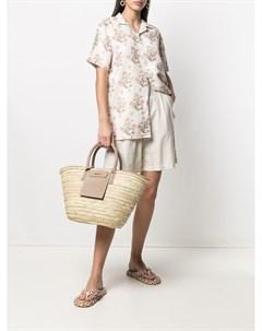 Рубашка с цветочным принтом Hemant & nandita