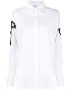 Рубашка с логотипом Patou