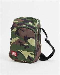 Дорожная сумка с камуфляжным принтом Crosshatch