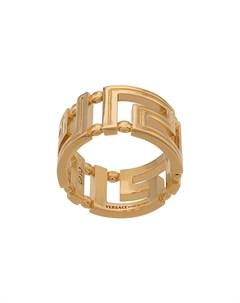 Кольцо с декором Greca Versace