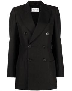 Двубортный пиджак Maison margiela